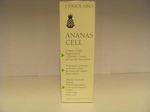crema corpo superattiva ananas cell erbolario