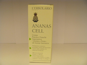 Crema pancia e fianchi superattiva ananas cell erbolario